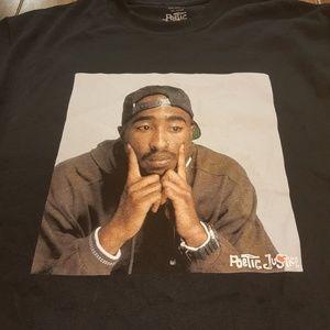 f2bef7ebc0c9 poetic justice Shirts - Tupac Shakur Poetic Justice Original Tshirts
